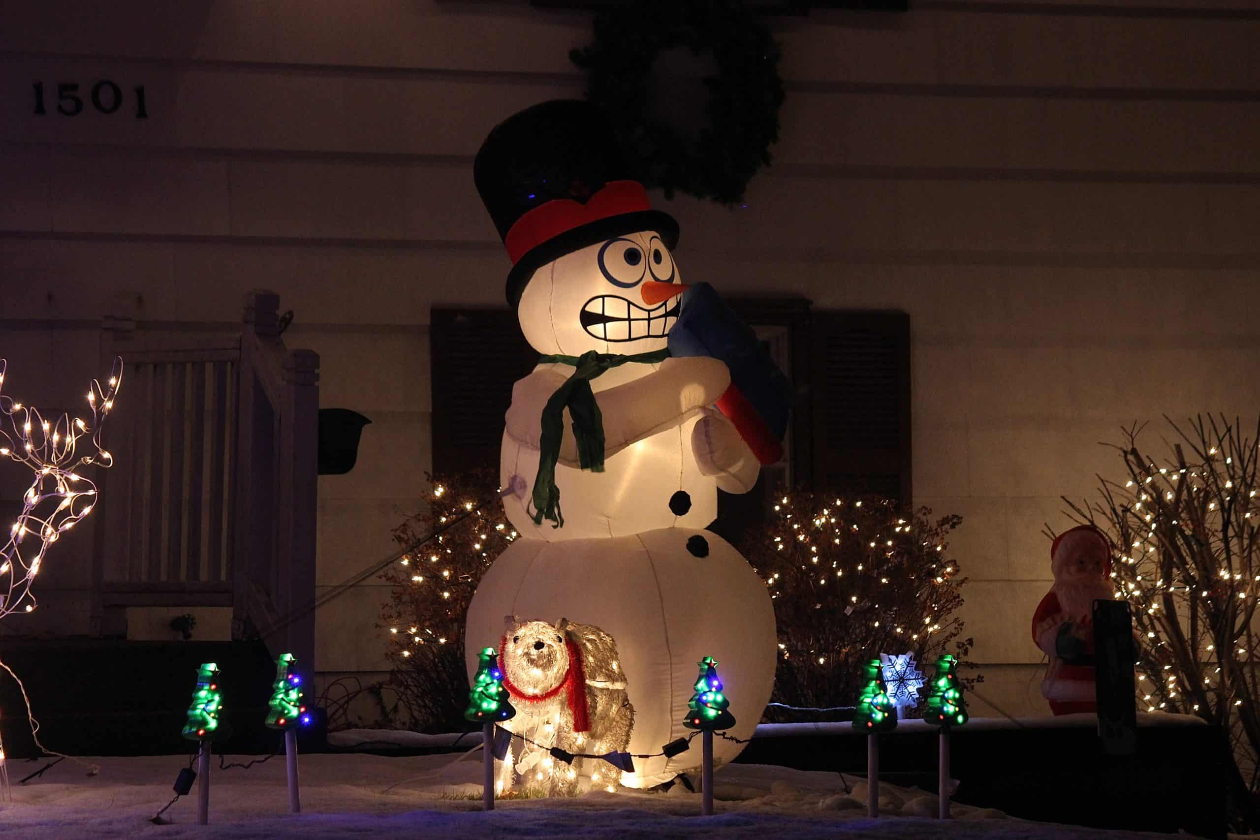 Stressed Snowman,Be Proactive to Reduce Effects of Holiday Stress